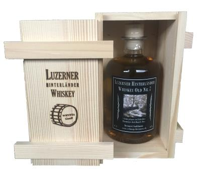 Luzerner Hinterländer Single Malt Whiskey Old Nr. 7